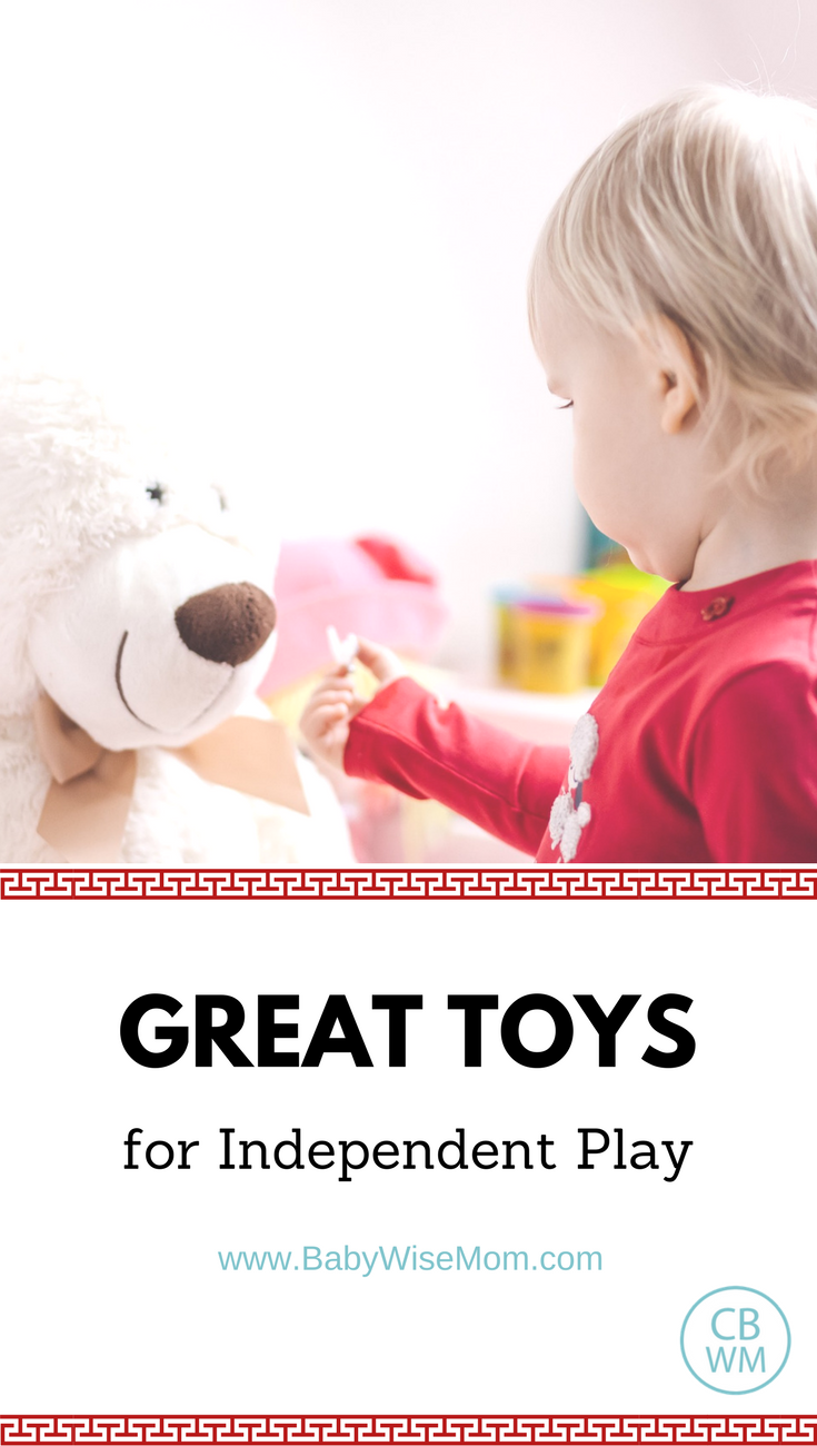 Great Toys for Independent Playtime to help your child play happily | independent play | toy list | #toylist