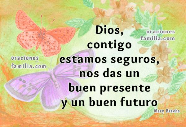 Frases con oraciones para iniciar el día, imágenes cristianas con oración corta de la mañana, buenos días en plegaria religiosa por Mery Bracho
