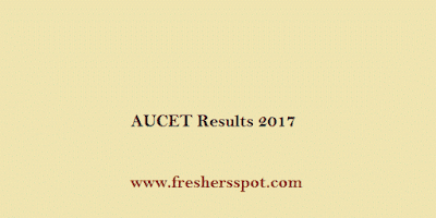 AUCET Results 2017 Ranks