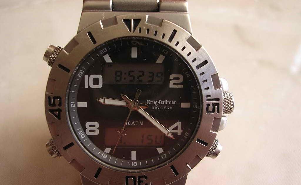 Maximuswatches Jual Beli Jam Tangan Second-Baru Original-Koleksi Jam  Maximus-www.maximuswatches.com  KRUG BAUMEN - (SOLD) a7e1e3cb1c
