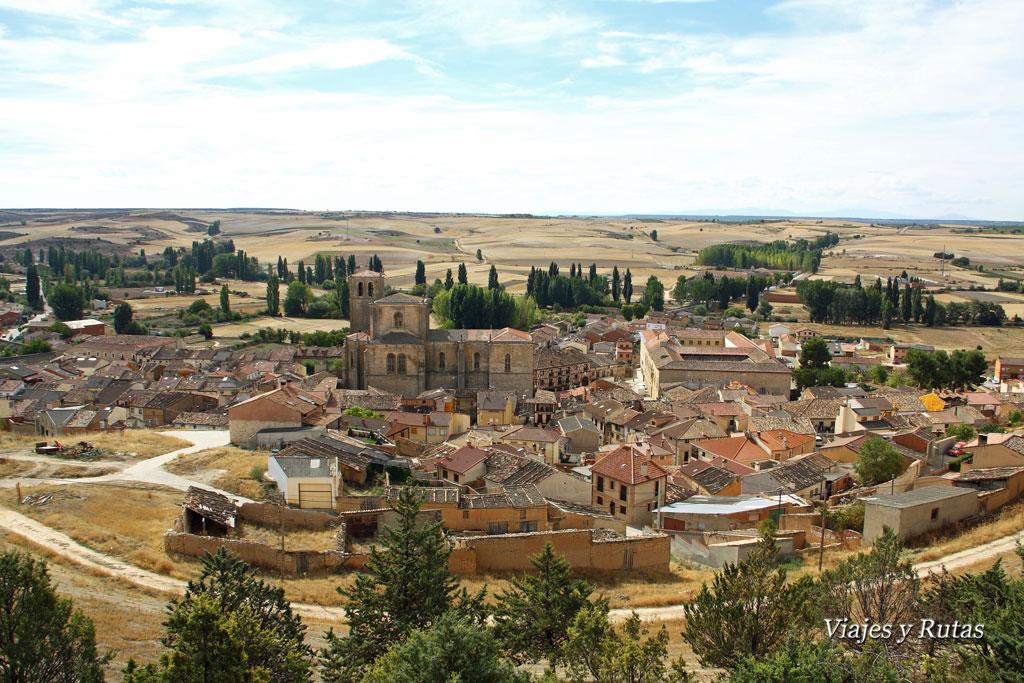 Peñaranda de Duero, visto desde el castillo