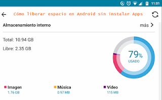 Cómo liberar espacio de tu teléfono Android sin instalar aplicaciones