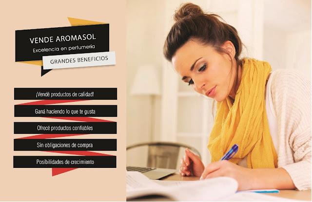 Aromasol, venta por catálogo