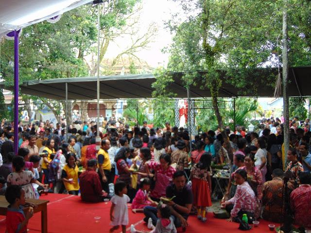 Pesta Umat, Saatnya Berbagi Berkat