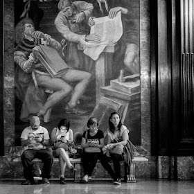 New York City May 2016 photo by Corey Templeton. Interior of New York Public Library.