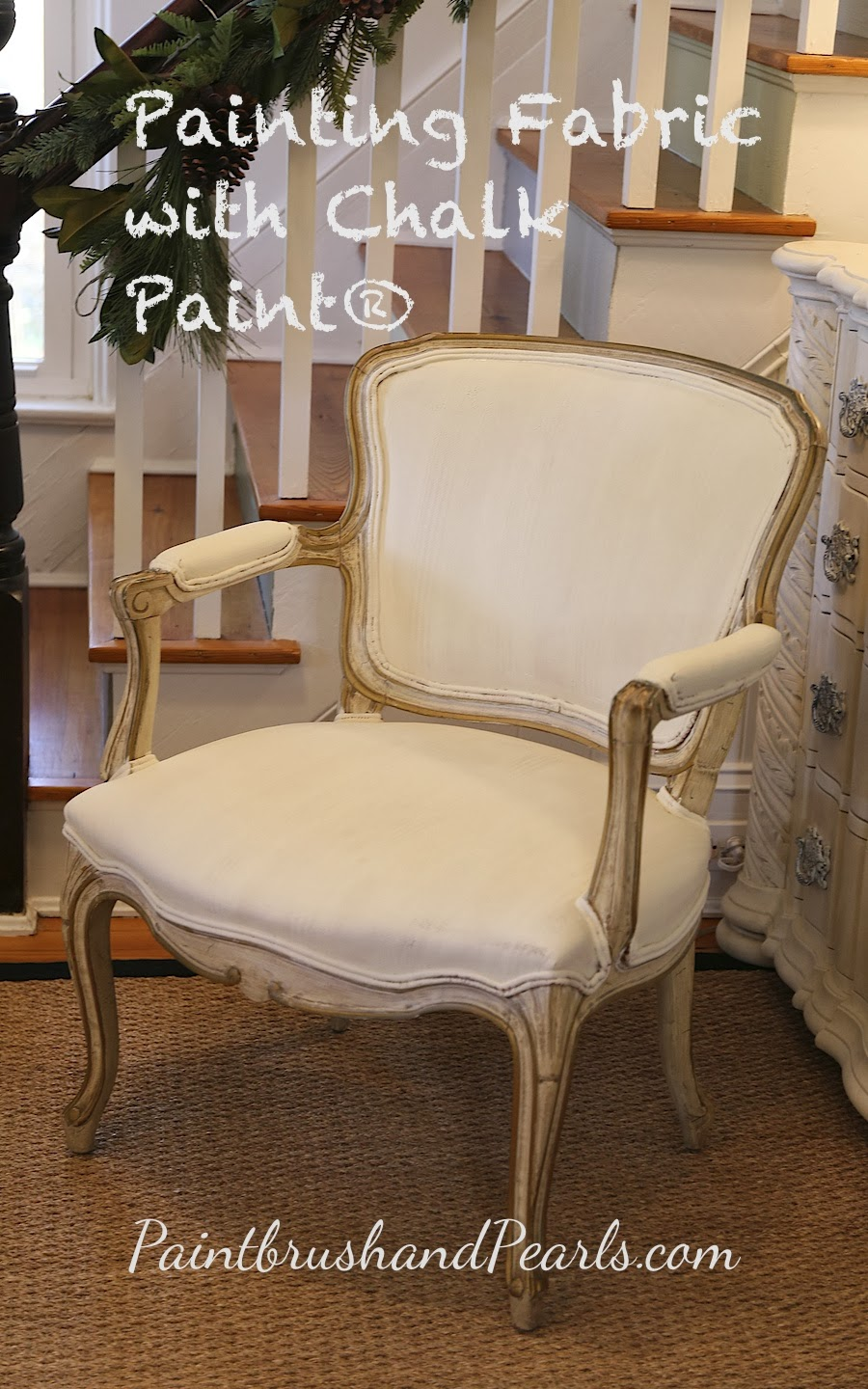 Brocante Home Collection's Paintbrush And Pearls: Painting