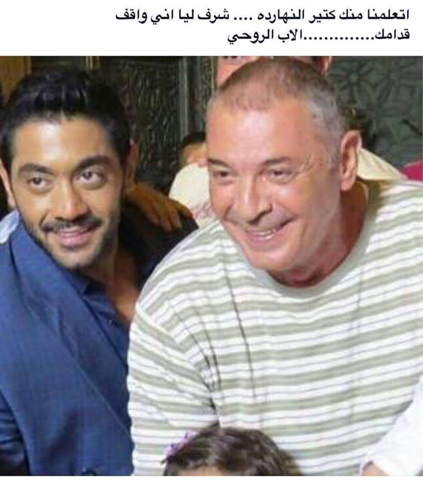 بالصور..النجم احمد فلوكس :تعلمت فى اول يوم تصوير جمعنى مع النجم محمود حميدة الكثير