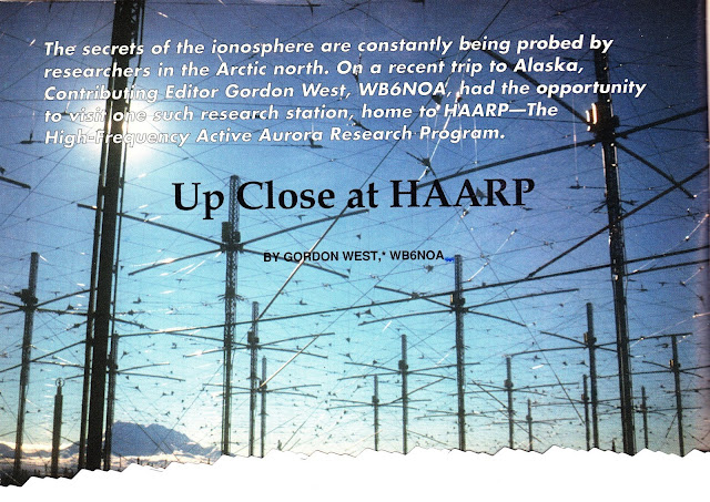 CQ Newsroom: HAARP Facility May be Dismantled