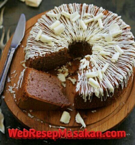 Chiffon Cake Coklat, Resep chiffon cake coklat, Chiffon Cake Coklat NCC,