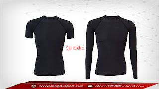 เสื้อรัดรูป สุดยอดผ้ายืด Nylon + Spandex