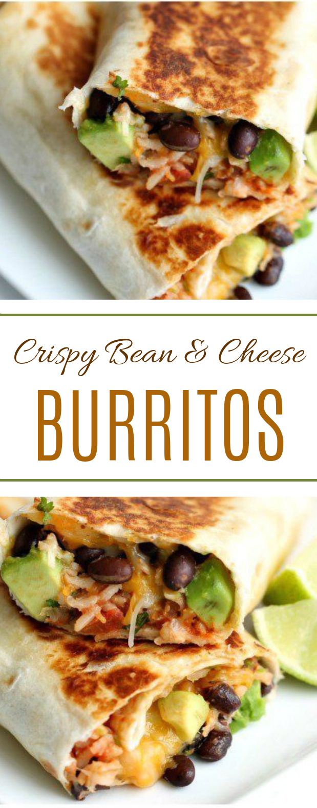 Crispy Bean and Cheese Burritos #lunch #deliciousmeal