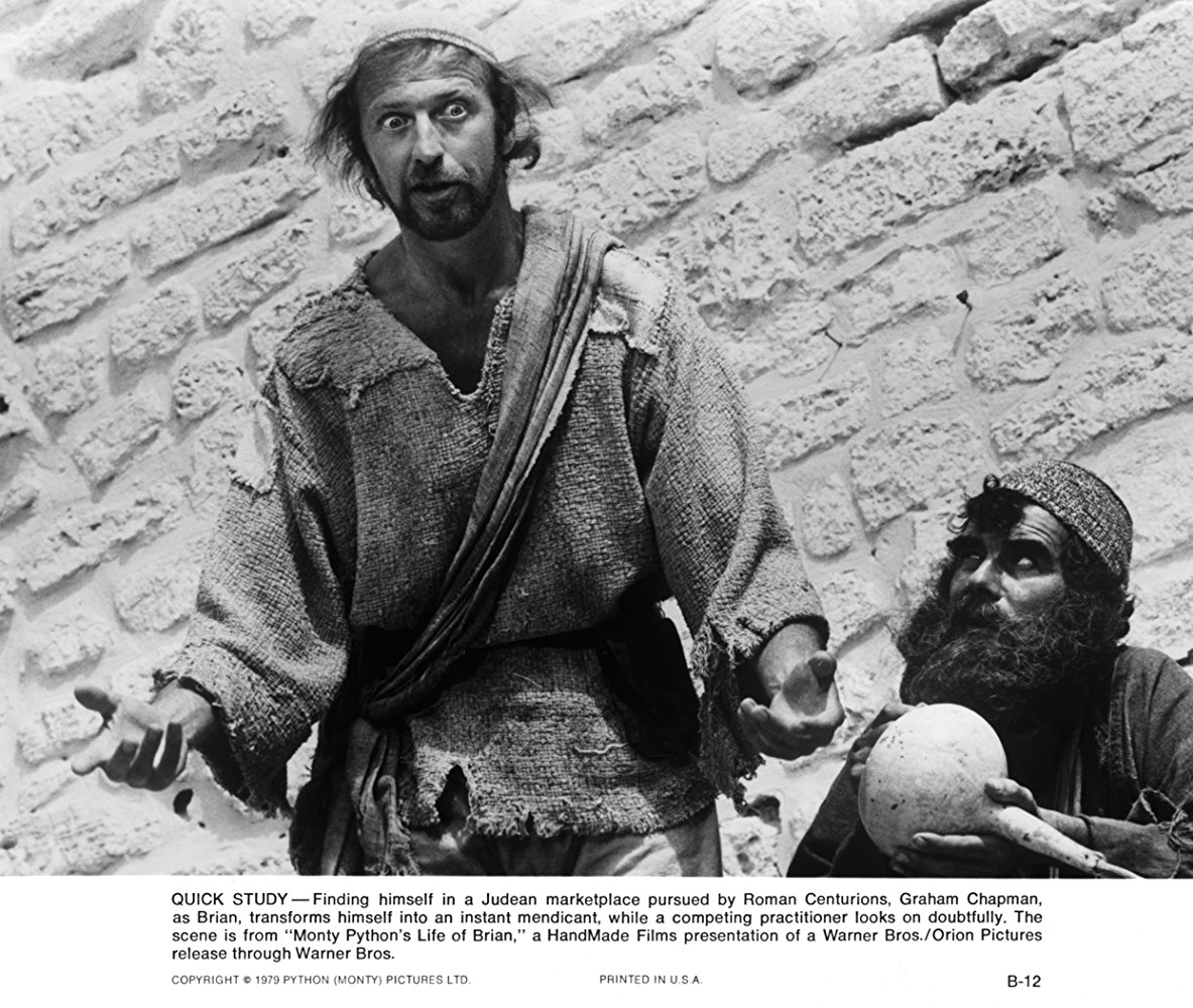 Monty Python The Royal Philharmonic Orchestra Goes To The Bathroom: Monty Python's Life Of Brian 1979 Full Movie Watch In HD