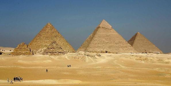 حل لغز بناء أعظم أهرامات مصر .؟