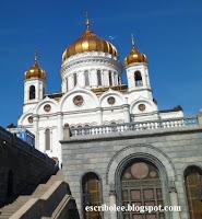 Viaje a Rusia: Moscú, catedral del Cristo Salvador