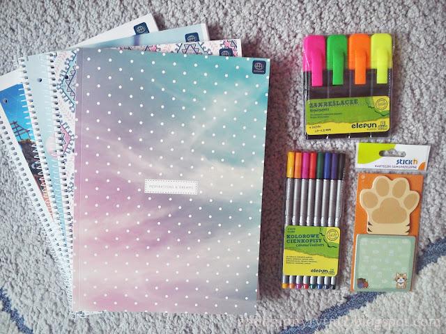 Organizacja na studiach cz. II + zakupy | Back to uni