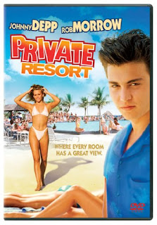 Private Resort 1985 dvd cover