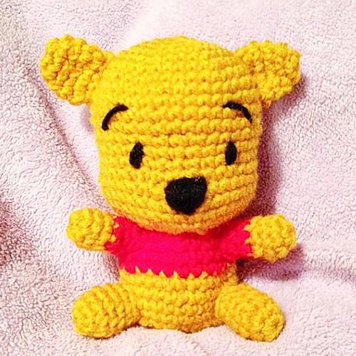 Beautiful Skills Crochet Knitting Quilting Winnie The Pooh