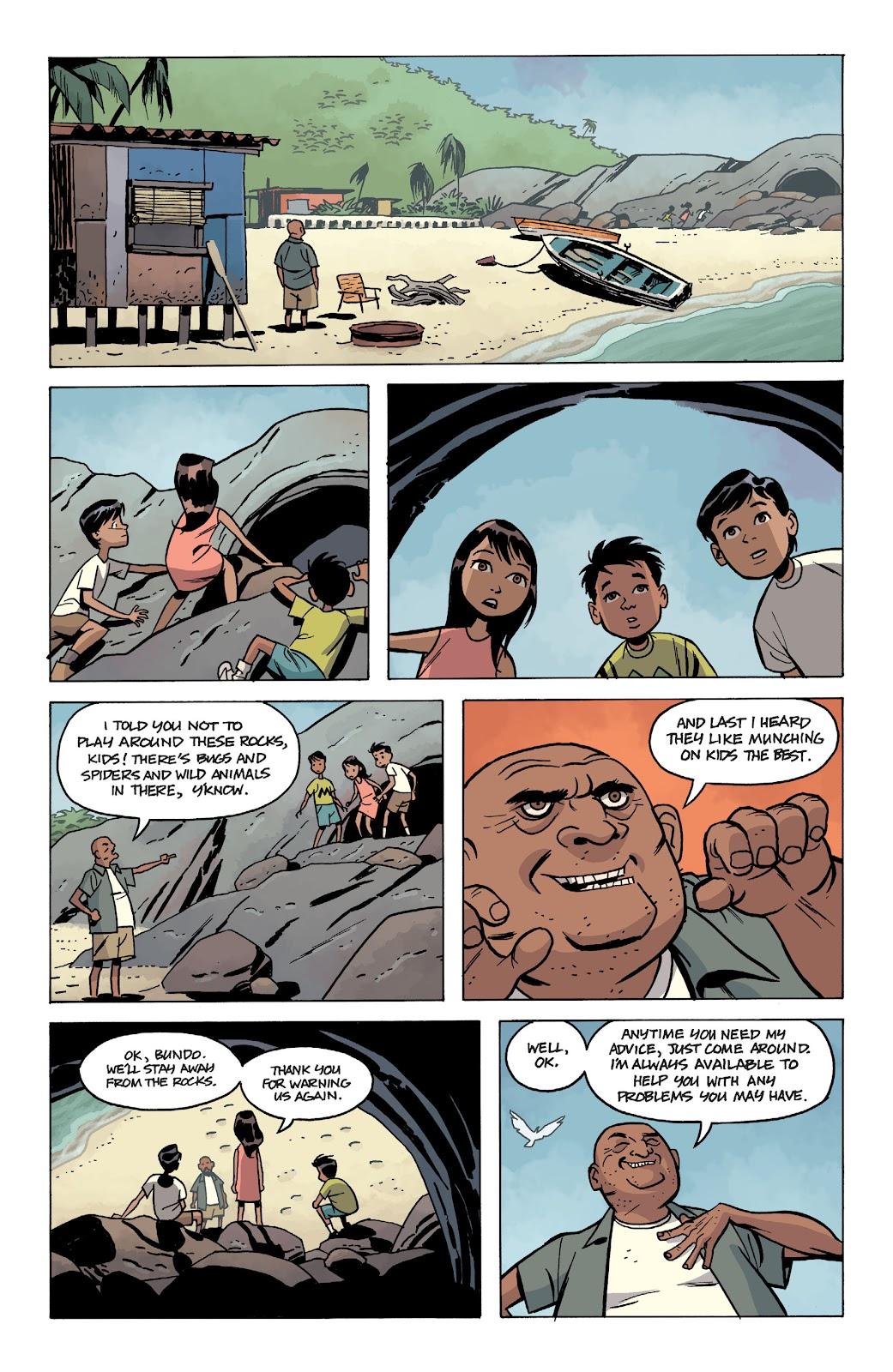 Read online The Twilight Children comic -  Issue #1 - 6