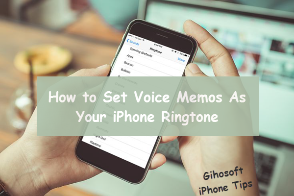 2 Methods To Plough Vocalisation Memos Into Ringtone For Iphone
