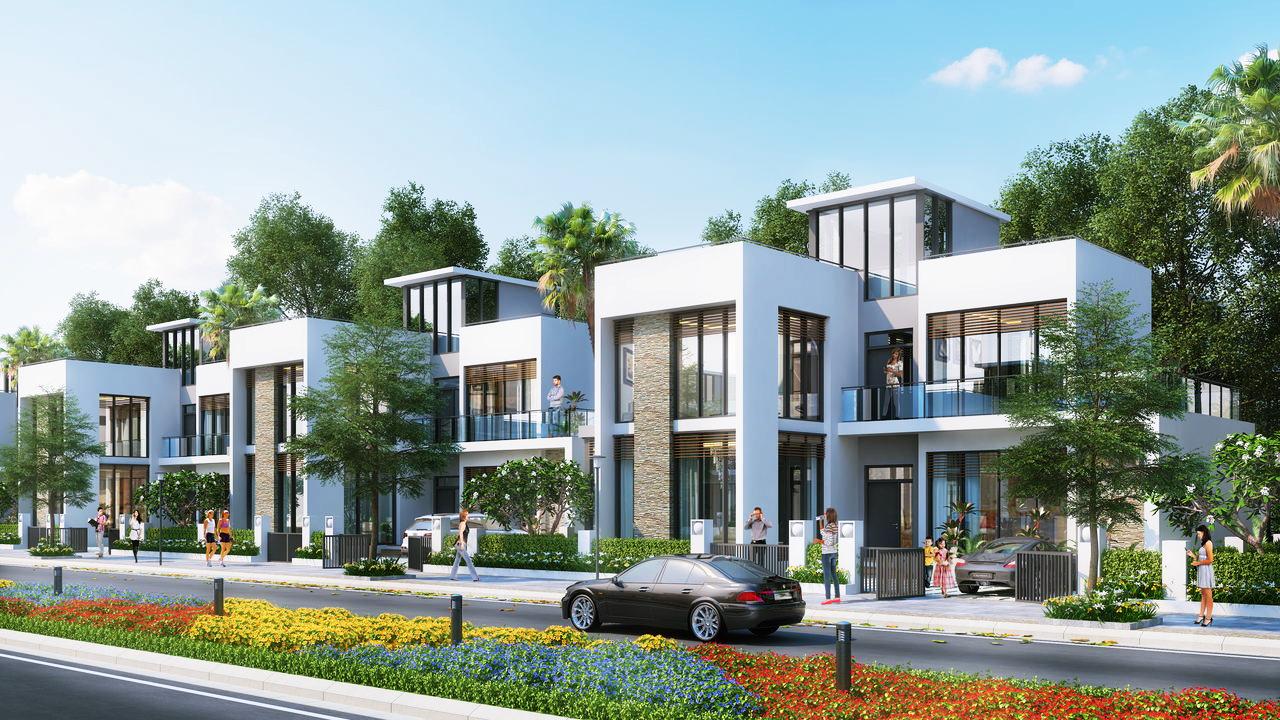Biệt thự khu đô thị mới Thuận Phước