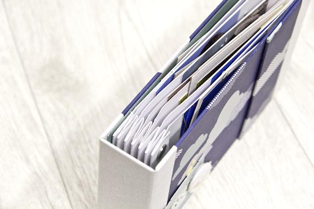 Minibook mit Patterned Paper von Shimelle