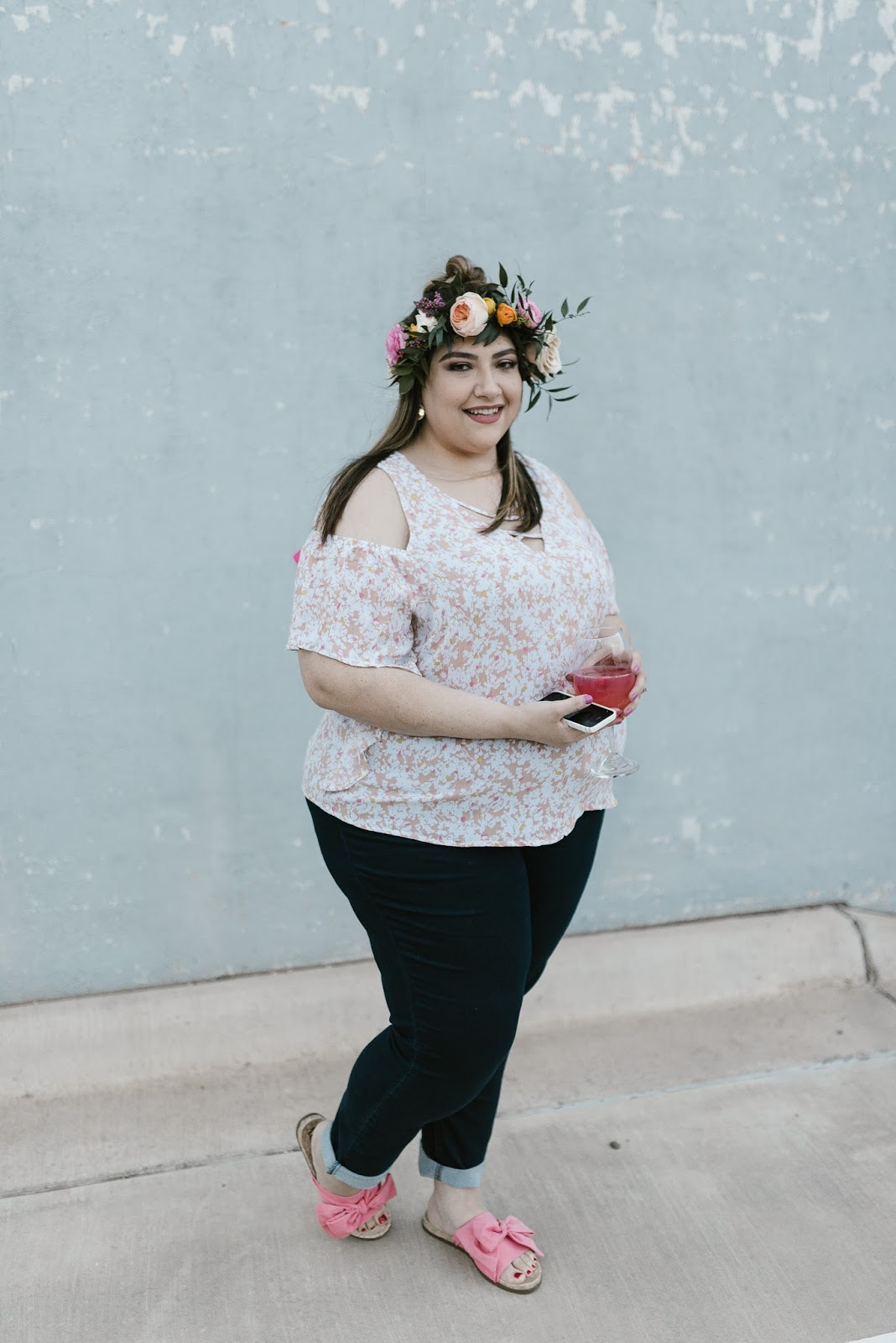 Plus Size Spring Outfit | beautywithlily.com