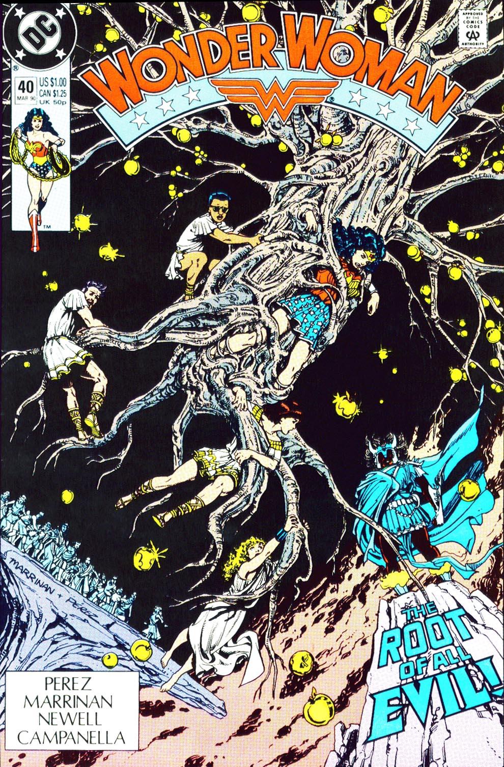 Read online Wonder Woman (1987) comic -  Issue #40 - 2