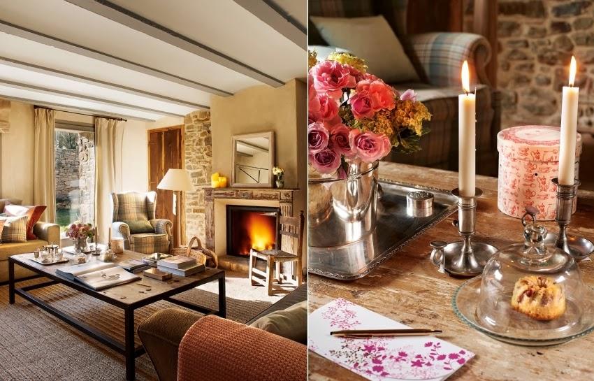 Hiszpański dworek z kamiennymi ścianami, wystrój wnętrz, wnętrza, urządzanie domu, dekoracje wnętrz, aranżacja wnętrz, inspiracje wnętrz,interior design , dom i wnętrze, aranżacja mieszkania, modne wnętrza, styl klasyczny, styl rustykalny, styl francuski, salon