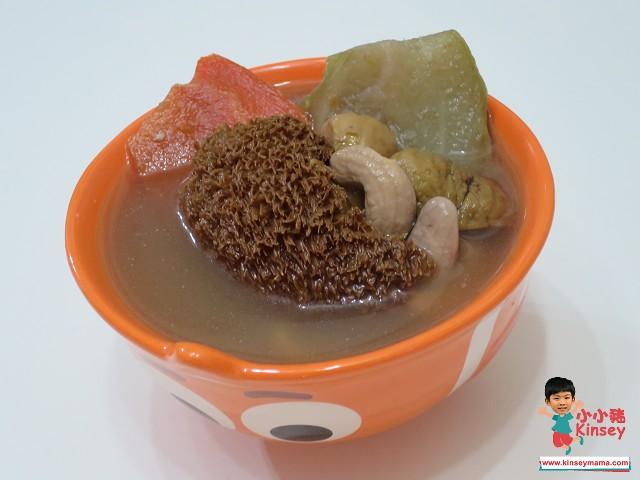 芒種養生湯水食譜6.湯水食譜:合掌瓜紅蘿蔔猴頭菇素湯
