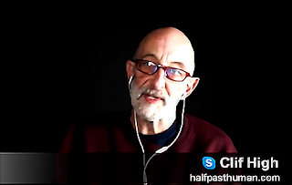 Clif High – critical thinking - James Gililland is lying about me! plus Scum Wars - woo personalities & shit they say! CLIF-HIGH