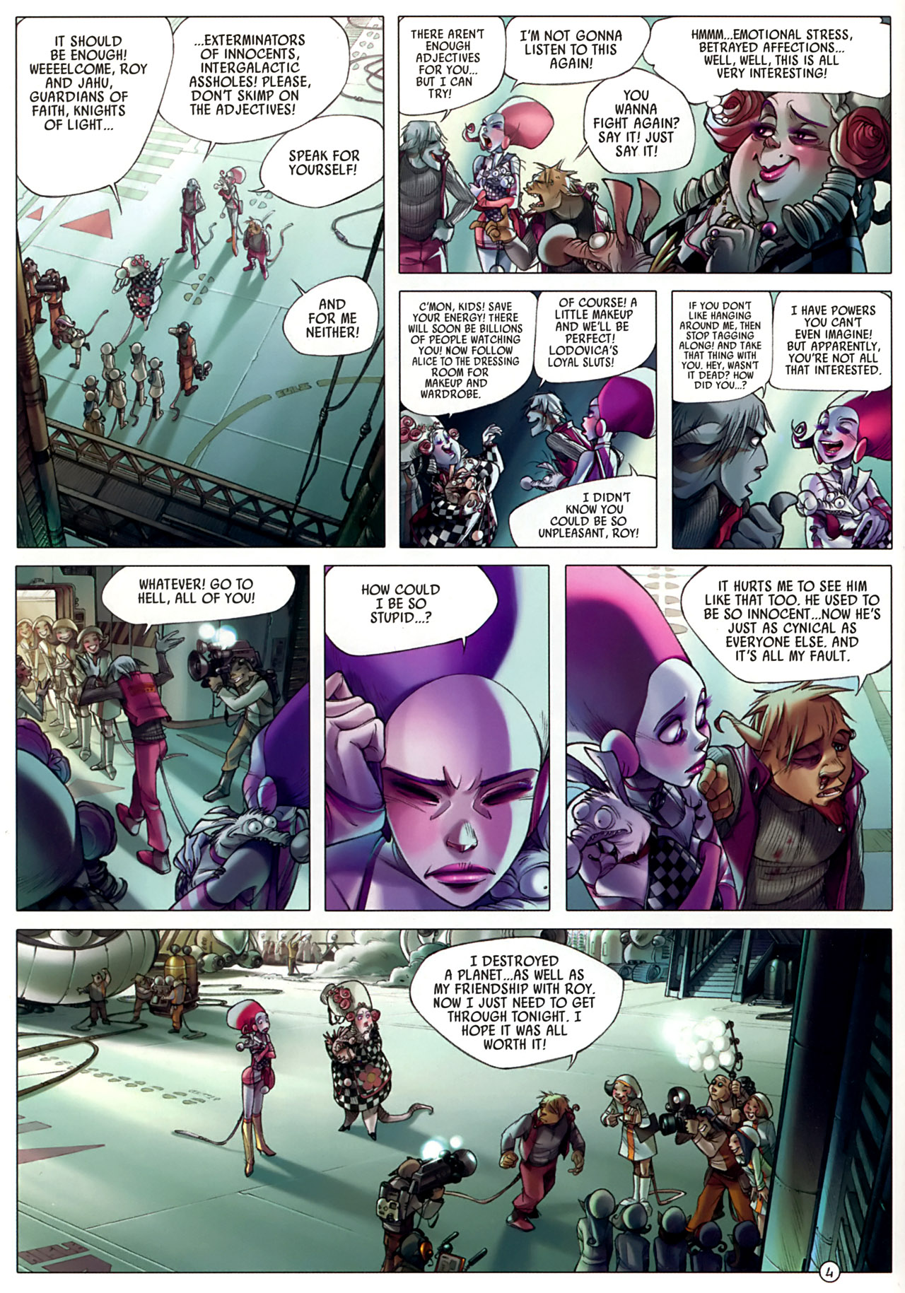 Read online Sky Doll comic -  Issue #3 - 8