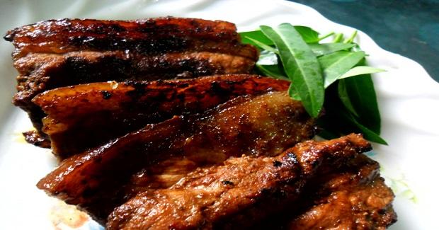 Grilled Pork Belly Recipe