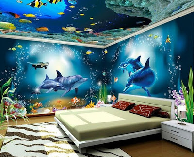 glow in the dark wallpaper stickers wall murals for bedrooms
