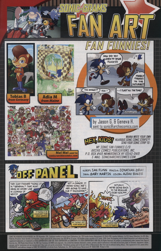 Read online Sonic The Hedgehog comic -  Issue #229 - 33