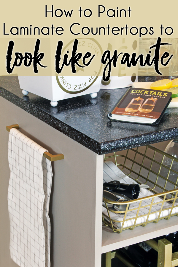 How To Paint Countertops Look Like Granite With Rustoleum Countertop Transformations Kit