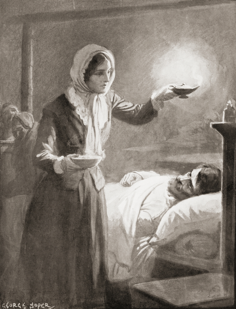 Florence Nightingale, 1820