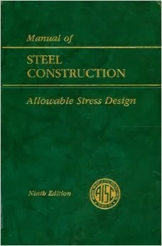 Spreadsheet: Properties of AISC Steel Sections as per AISC 9th Edition Code