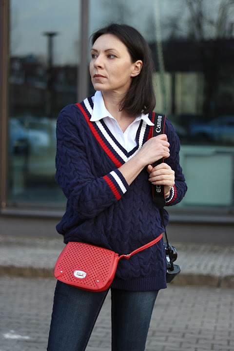 Sweter tenisowy