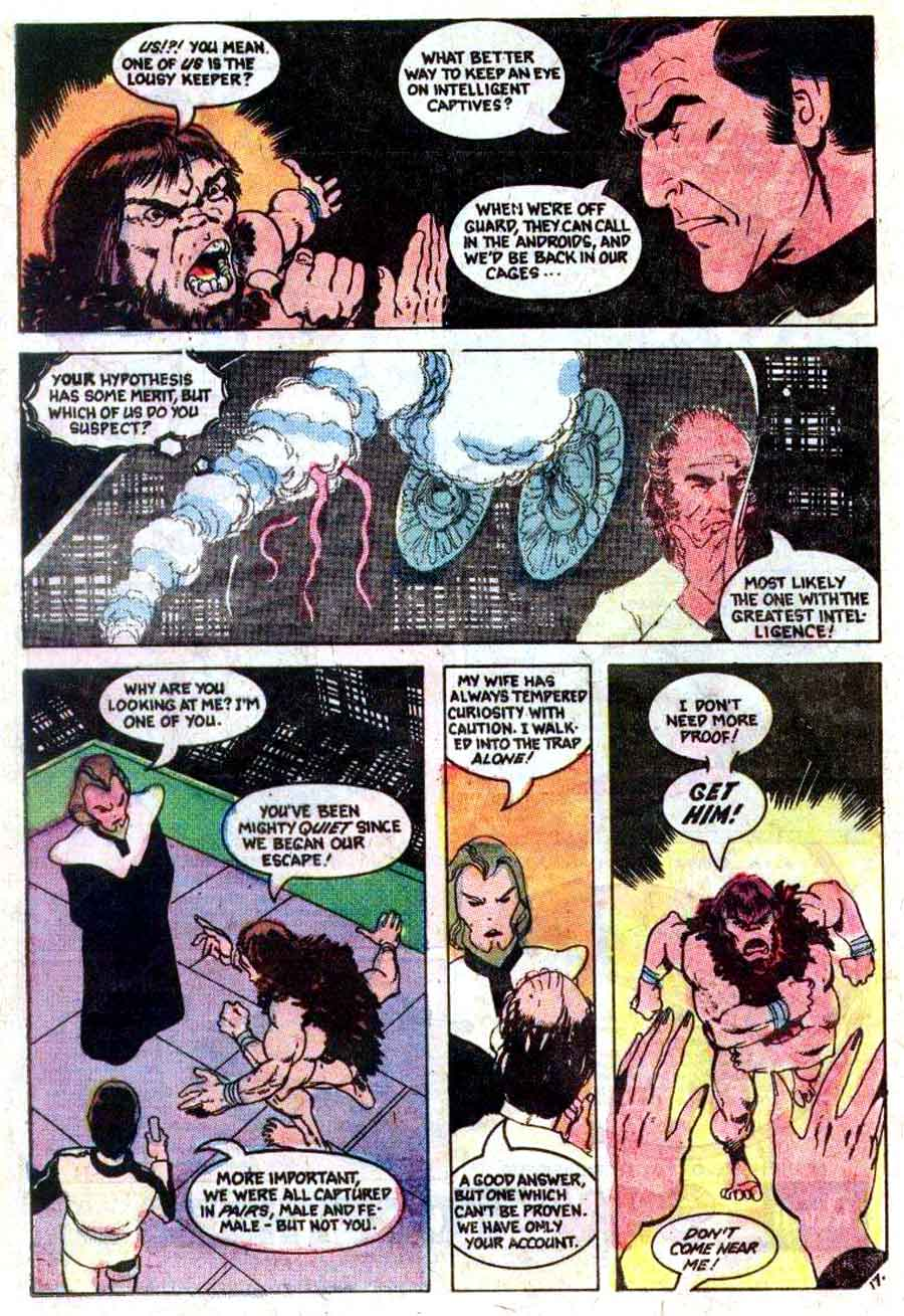 Space 1999 v1 #3 chalrton bronze age comic book page art by John Byrne