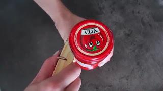 tutorial cara membuat pembuka kaleng selai