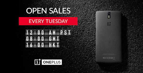 OnePlus One on sale every Tuesday