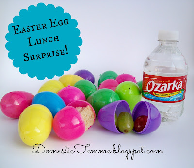 Easter Egg Lunch Surprise #Idea #Ideas #Lunchbox #Eggs #Lunches #School