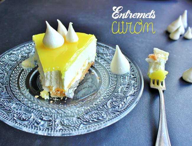tarte citron entremets