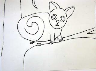 Animal Drawing: Bush Baby - Rumriver Art Center
