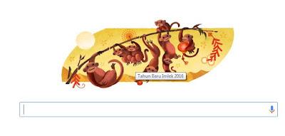Google Doodle Turut Merayakan Tahun Baru Imlek