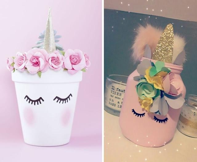 DIY: decoração com unicórnios