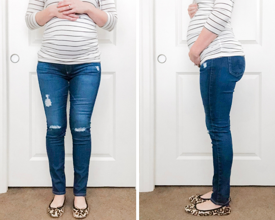 2c731f9bf360 AG Secret Fit Belly Legging Ankle Maternity Jeans Color  11 Years Swapmeet   235 (regular)