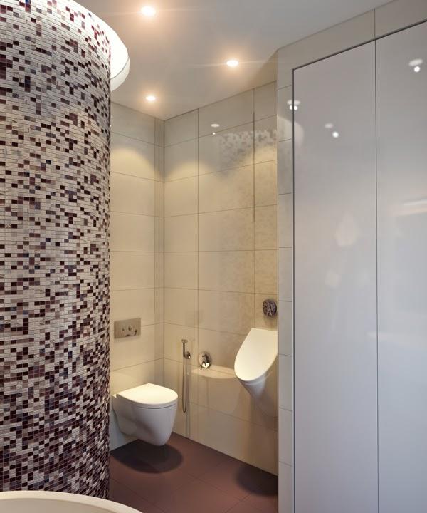 Piastrelle mosaico per rivestimenti bagno - Bagno moderno mosaico ...