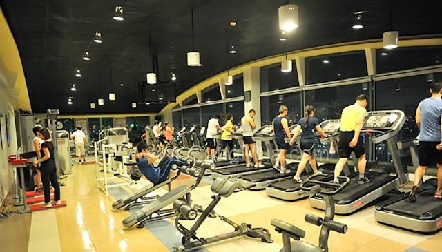 Phòng tập Gym sang trọng với đầy đủ tiện nghi