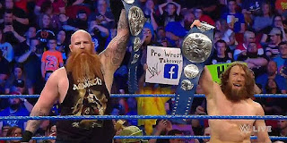 Daniel Bryan And Rowan Win The Vacant WWE SmackDown Tag Team Titles